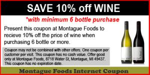 10% Off Wine